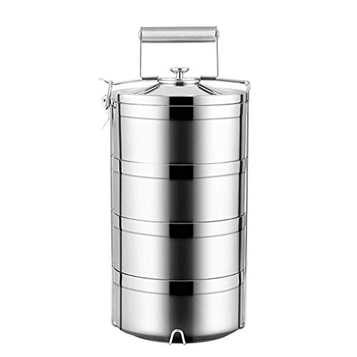 New BAPYZ Stainless Steel Double-Wall Vacuum Food Container-Multi-Layer Insulated Thermal Insulation...