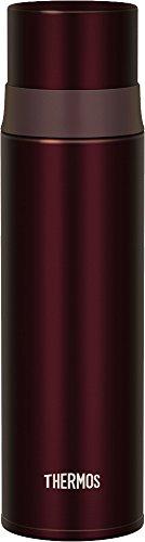 サーモス 水筒 ステンレススリムボトル 500ml ステンレスブラック FFM-500 SBK