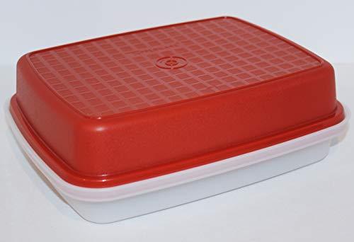 Vintage Tupperware Season Serve Jr. Marinade Keeper Container #1518-4 Paprika