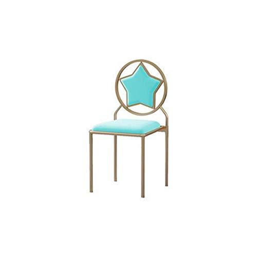 YUTRD ZCJUX Tavolo da Pranzo e Sedia Sedia da Giardino Salone della casa di Netto Modello Red Room Chair Casa Ristorante Sedia negoziazione Chair Cafe Hotel Chair (Color : B)