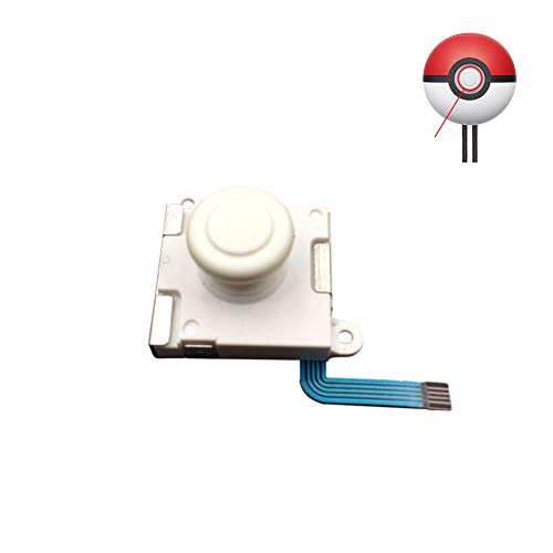 Xingsiyue Análogo Thumbstick Botón Joystick para Nintendo Switch Poké Ball Plus, Reemplazo 3D Análogo Pulgar Balancín Controlador Partes