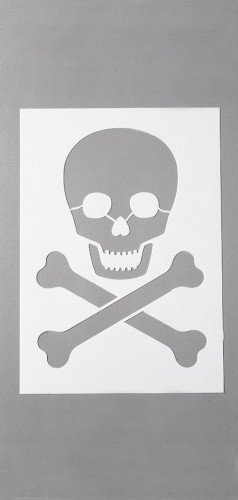 efco Stencils, Kunststoff, Weiß, 29.7x21x0,1 cm