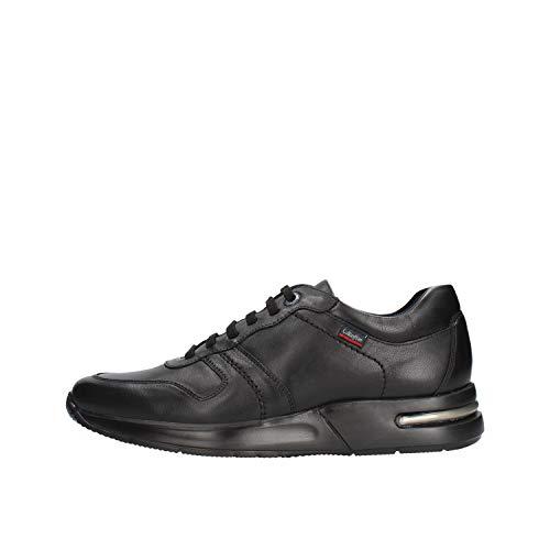 CALLAGHAN zapatos de hombre zapatillas bajas 91312 NEGRO talla 43
