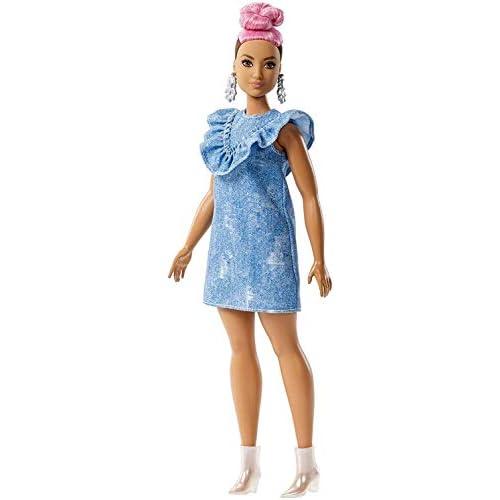 Mattel Barbie- Fashionistas Regina del Jeans Uno Stile da Collezionare, FJF55