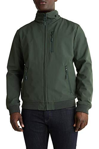ESPRIT Herren 020EE2G301 Jacke, Grün (Khaki Green 350), Medium (Herstellergröße: M)