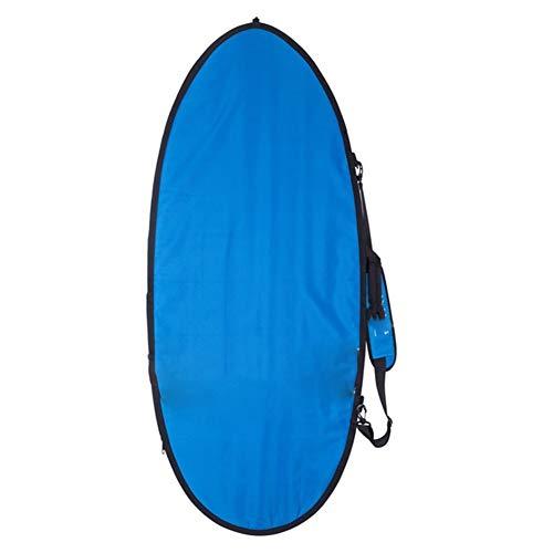 juqingshanghang1 57' 145 cm Skimboard Delux Bolso de la Cubierta Wakesurf Foilboard Boardbag Protect Adecuado para el Exterior. (Color : Blue)