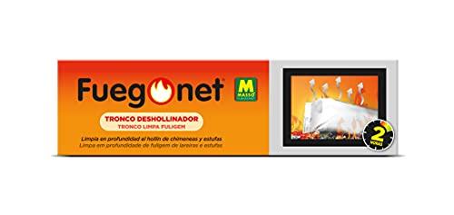 Fuegonet 231168 Tronco Deshollinador, Marrón, 27.7x7.7x7.7 cm
