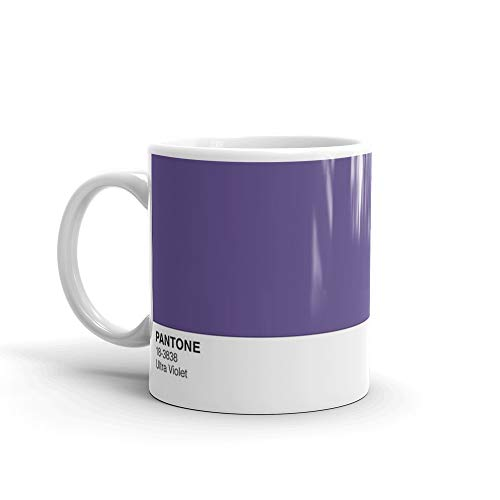 Pantone COY 2018 Mug, Ultra Violet 18-3838