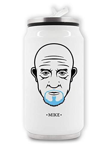 LukeTee Mike Portrait Graphic Breaking Bad Thermische drankblik