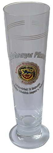 Bierglas / Tulpe - Radeberger Pilsener - Jubiläumsglas 1905-2005 - 0,3 Liter
