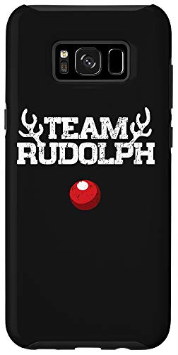 Galaxy S8+ Team Rudolph Funny Christmas Reindeer Lover Gift Case