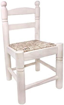 Amazon.es: silla madera asiento enea: Hogar y cocina