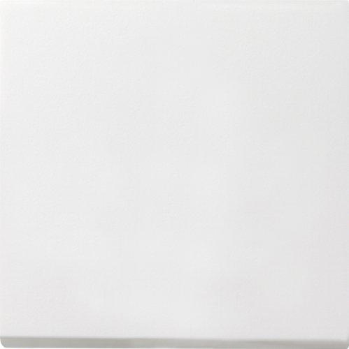 Gira Wippe Wechselschalter Flächenschalter reinweiß glänzend, 0296112