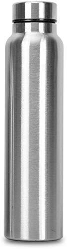Classic Essentials INOX Spring Stainless Steel Fridge Water Bottle, 1000ml, Silver