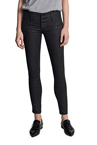 Salsa Mystery Push up skinny jeans in donkere coating