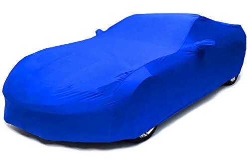 NO BRAND Personalizado Cubierta del Coche,Apto for BMW M3 Coupe,Ajuste, Cubierta elástica Interior para Proteger Todo el vehículo (Color : Blue, Size : 1992-1998)
