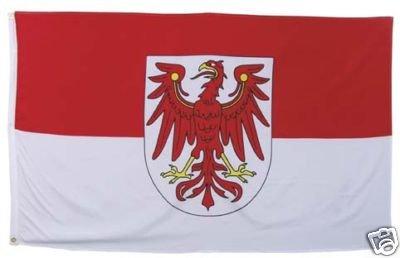 Brandenburger Flagge Brandenburgfahne Brandenburgflagge
