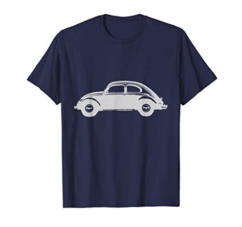 Vintage Car Lovers Classic Beetle Iconic T-Shirt