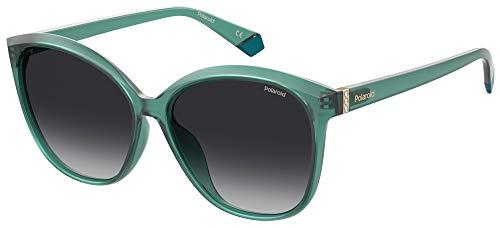 Polaroid Gafas de sol PLD 4100 FS MR8 WJ verde petróleo lentes polarizadas