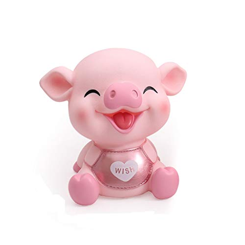 xiaoli Hucha Hucha for niñas niños Cute Pig Money Box Piggy Bank Shaped Coin Bank Box Creative Pig Money Box Gift for niños Banco de Dinero (Color : Pink, tamaño : Large)