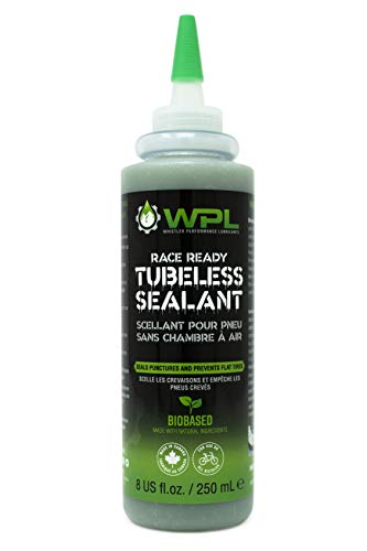 WPL Race Ready Tubeless Tire Sealant 250mL - Quality Liquid Bicycle Tire Sealant for Mountain Bikes and Dirt Bikes