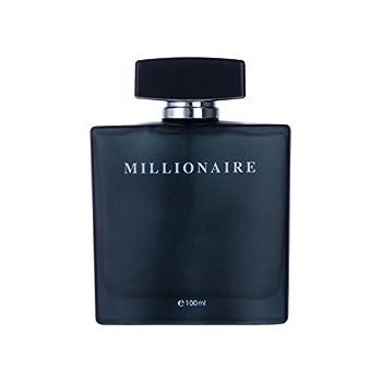 Perfume&Beauty Perfume Eau de Parfume for Men 3.4 oz Spray Parfume for Men 100 ML- Black Millionaire