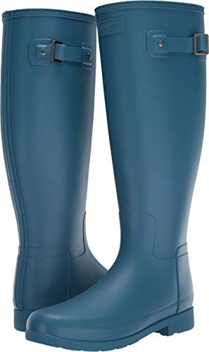 Hunter Womens Original Refined Wide Calf Rain Boot Matte