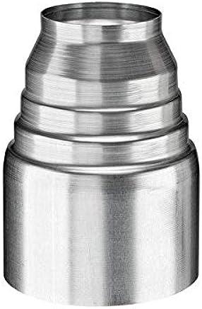 Tappo in rame per tubo verticale 80-100//116 87-116 e 100-116//150 76-116 misure 60-116