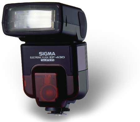Sigma EF 430 Super Kompakt-Blitz Blitzgerät