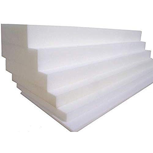 Porter and Lambert Upholstery Foam - Replacement Foam Cut to Any Size | High Density Sofa | Cushions Seat Pads, Stool/Chair Firm Foam Thickness 1',16' x 16'