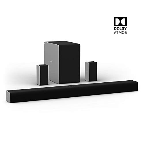 "VIZIO SB36514-G6 36"" 5.1.4 Premium Home Theater Sound System with Dolby Atmos and Wireless Subwoofer"