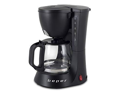 BEPER Cafetera Americana BC.060 Color Negro, 6 Tazas, de Goteo, OneSize