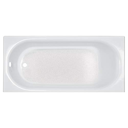 American Standard 2397202.020 Princeton 60 in. x 30 in. Americast Apron-Front Bathtub with Left Hand Drain, White