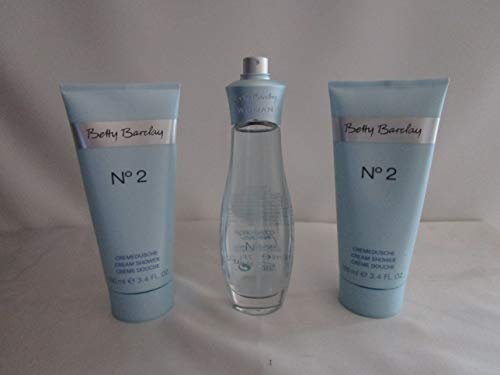 Betty Barclay Nr 2 No.2 N° 2 50 ml Eau de Toilette + 2 x 100 ml Duschgel