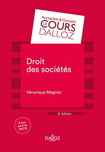 Droit des sociétés - 9e ed.