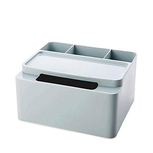 GFDFD Caja de Almacenamiento: Caja de Almacenamiento de plástico for baño, tocador, Sala de Estar, Escritorio, Control Remoto, Caja de Almacenamiento (Color : A)