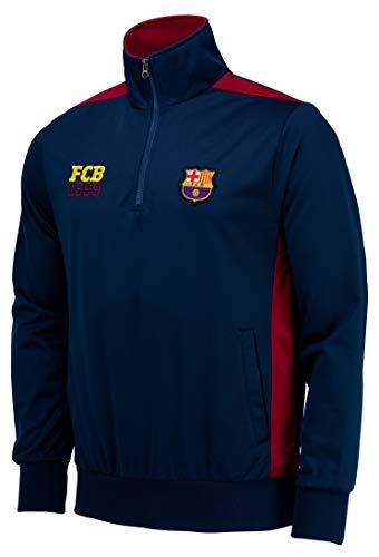 Damen Demi zippéa Barca–offizielle Kollektion FC BARCELONA–Erwachsenengröße, für Herren XL blau