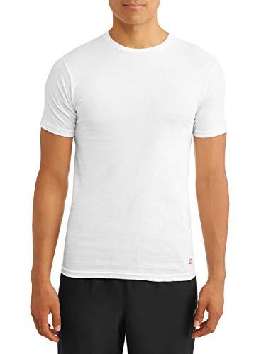 Ecko Unltd. Men's 3 Pack of Crew Neck t-Shirts| Super Soft Ring Spun Cotton| 100% Cotton | White