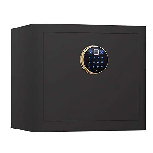 ZSAIMD Caja Fuerte digital, cajas fuertes Gabinete de la huella digital de bloqueo de fuego incombustible Digital Home Box Combinación caja fuerte de pared seguro de la cerradura Cash Box Fuerte pared