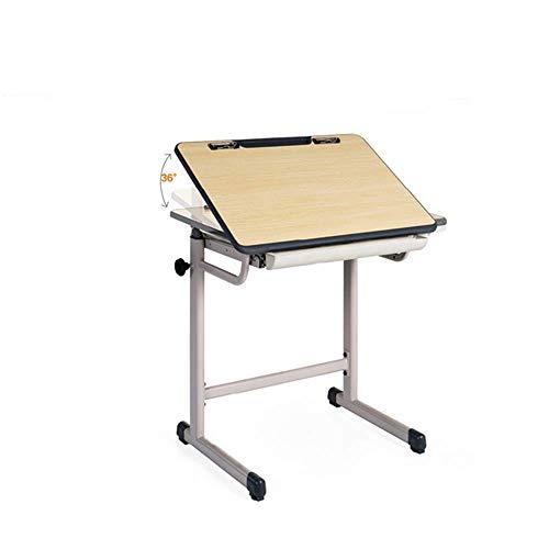 AI LI WEI Household Products/Furniture Altura Ajustable del Ordenador portátil escritorios Tabla de Alumnos de Escritorio se Puede inclinar multifunción de Dibujos Caballete 70 * 50 * 67-79CM