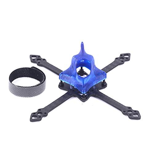DingPeng Stuzzicadenti 2-4s brushless for whoop FPV. Drone Quadcopter Frame. Kit 10. Portabicchiere in fibra di carbonio da 5 mm con a baldacchino in pirtone 3D FPV Racing Drone Quadcopter Accessori R