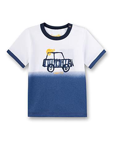 Sanetta Baby-Jungen T-Shirt, Weiß (White 10), 80 (Herstellergröße: 080)