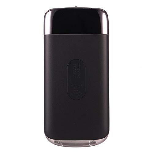 DishyKooker Wireless Charging 10000mAh powerbank externe oplader powerbank draagbare QI snel opladen voor I-Phone XS Max Xiao-mi elektronische producten voor geschenken, zwart