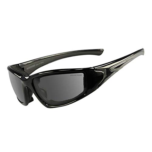 John Doe Brille, Black,3 Roadking-photocromatic