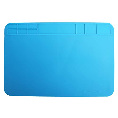 Alfombrilla de reparación Almohadilla de reparación resistente al calor antideslizante Fácil de plegar para teléfonos inteligentes Computadoras Tabletas para el hogar