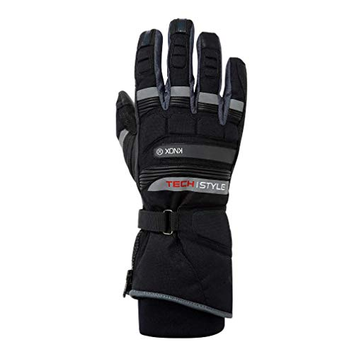Knox Techstyle Wasserdicht, Thermo- Motorcyce Handschuhe (2XL)