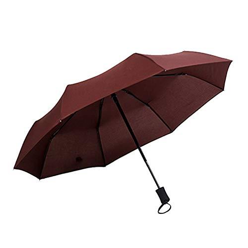 Xcwsmdq Umbrella Windproof Double Layer Inverted Umbrellas Reverse Folding Portable Sunscreen Female Parasol Umbrella UV Protection Rain gear (Color : 8 bones 96 x 55cm CO)