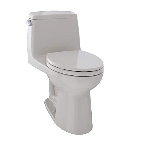 TOTO MS854114SL#12 Ultramax ADA One Piece Toilet, Sedona Beige