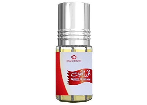 Bakhoor al Bahrain Al Rehab Parfum 3ml Oil (alkoholfrei, hochwertig, orientalisch, arabisch, oud, misk, moschus, natural perfume, amber, adlerholz, ätherisch, attar scent)