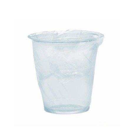 Vasos transparentes precintados, 200 unidades